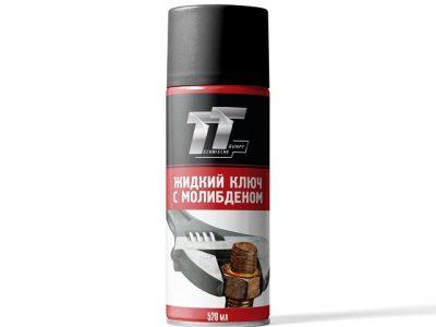 TT Жидкий ключ с молибденом, 0,52л