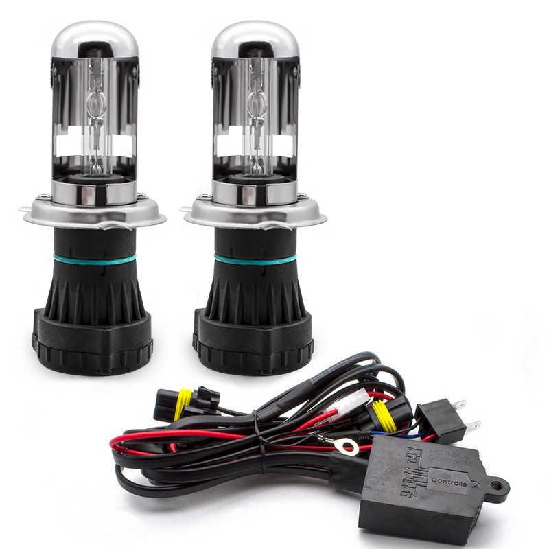 HENKEL Лампа автомобильная биксеноновая H4 5000к, комплект
