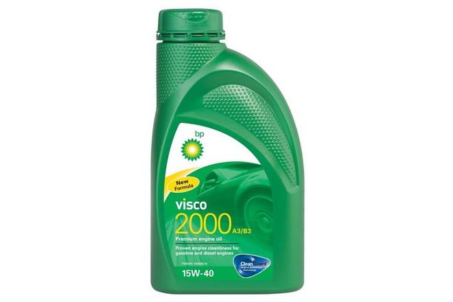 BP Моторное масло Visco 2000 SAE 15w40 1л Mineral oil