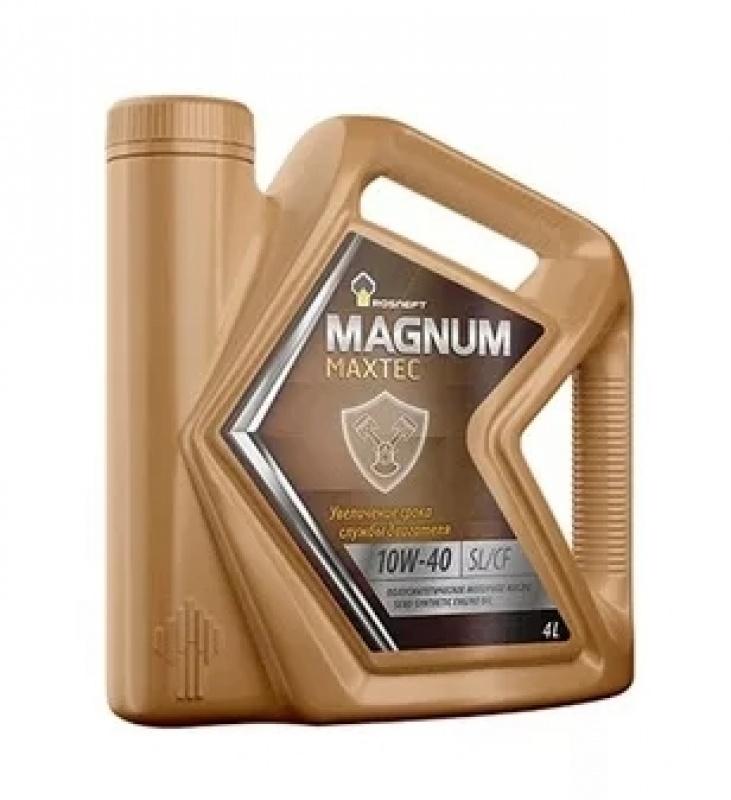 РОСНЕФТЬ Моторное масло Magnum Maxtec SAE 10w40 4л Semil-synthetic