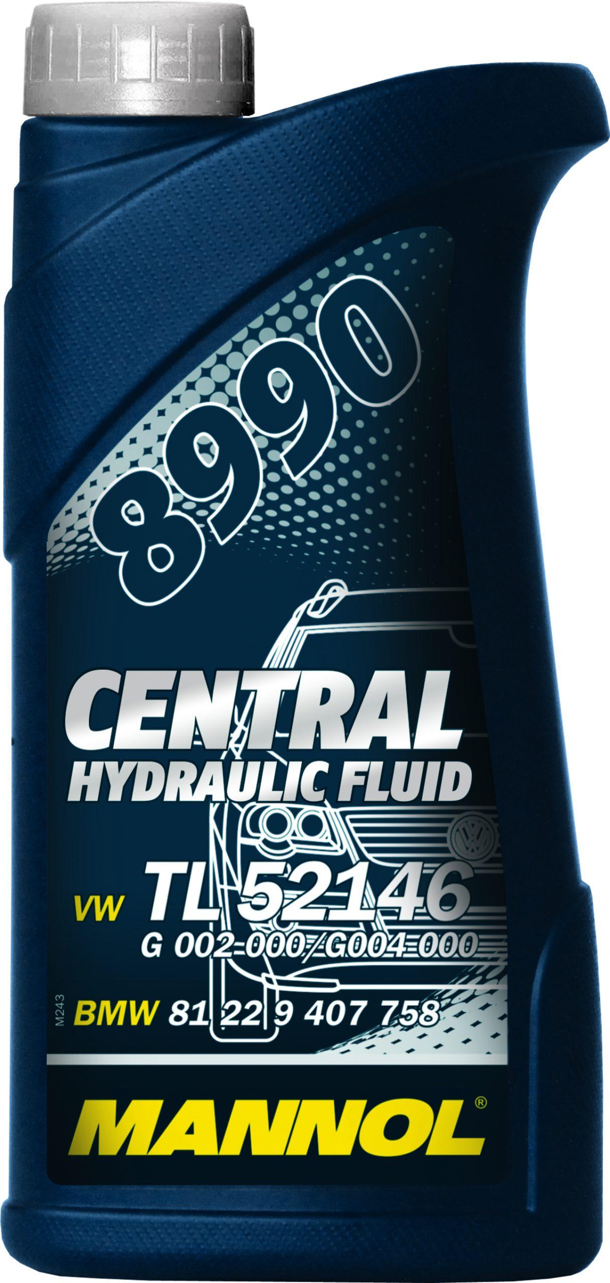 MANNOL Гидравлическое масло CHF 8990 0,5л Mineral oil