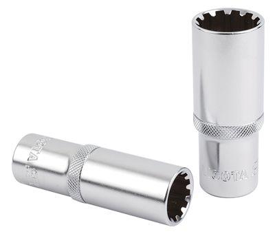 LICOTA Головка торцевая глубокая Spline 3/8″DR, 14 мм
