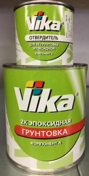 VIKA Грунтовка эпоксидная 1,2л + отвердитель 0,17л