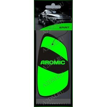 A2DM Ароматизатор картонный ПОДВЕСНОЙ флуоресцентный INSPIRE «ИНСПАЙР» (зеленый)