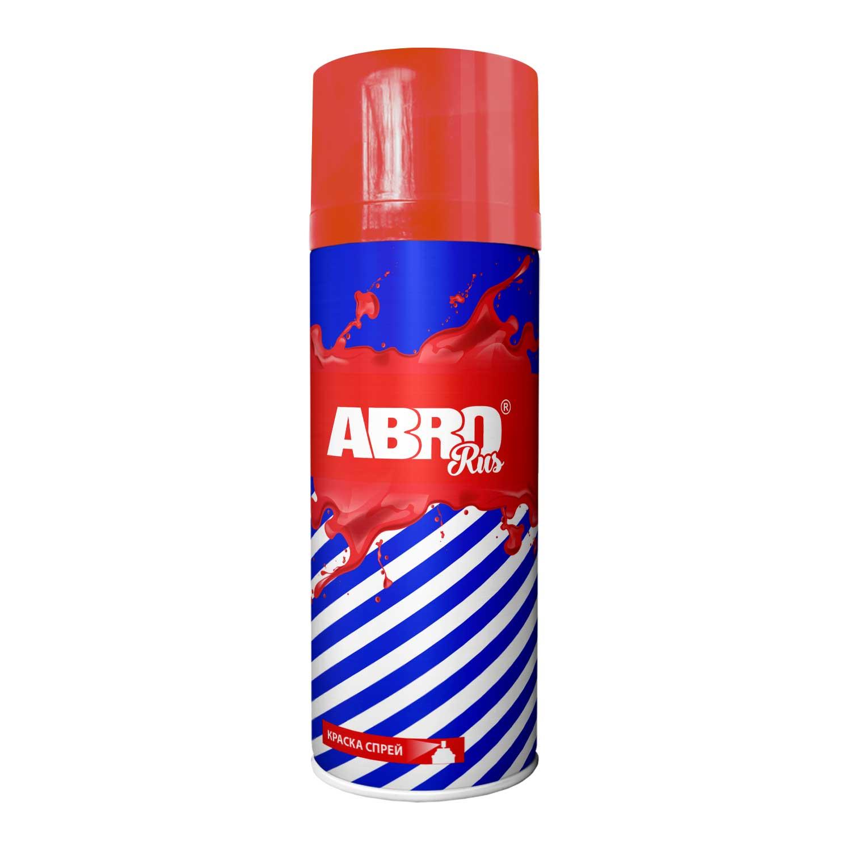 ABRO Rus Автоэмаль флуоресцентная Красная, 0,4л