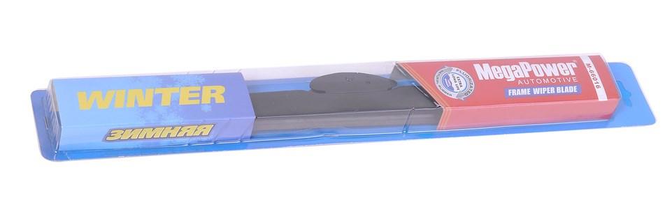 MEGAPOWER Щетка стеклоочистителя каркасная зимняя Winter, 400 мм / 16″DR