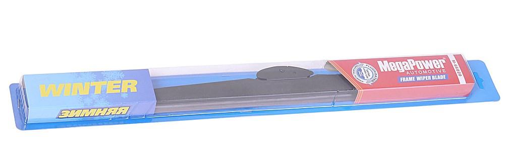MEGAPOWER Щетка стеклоочистителя каркасная зимняя Winter, 500 мм / 20″DR