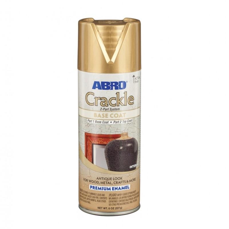 ABRO Автоэмаль Crackle база золото, 0,237кг