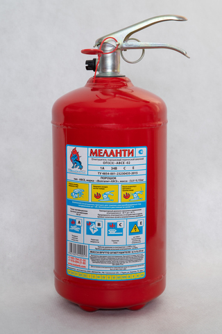 МЕЛАНТИ Огнетушитель с монометром 3кг