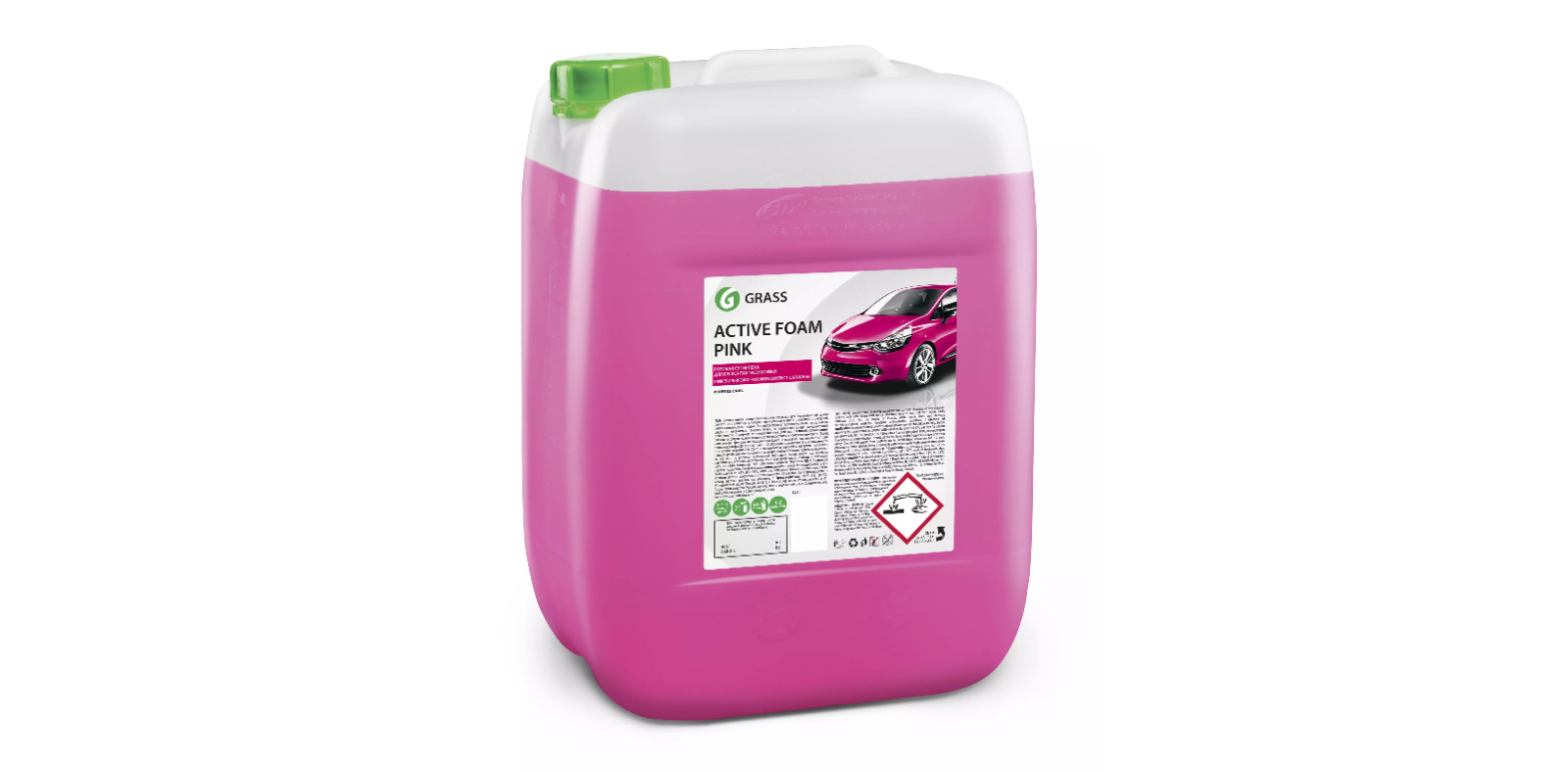 GRASS Активная розовая пена Active Foam Pink, 12л