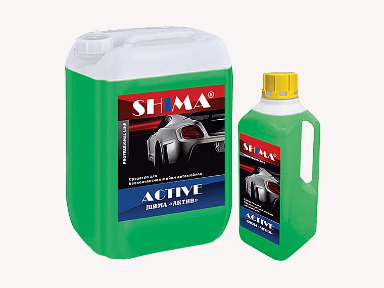 SHIMA  ACTIVE Профессиональное среднещелочное средство, 1л