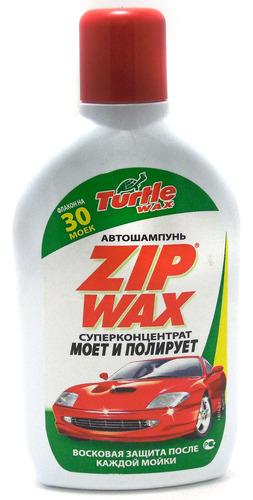 TURTLE WAX Автошампунь Zip Wax, 0,5л
