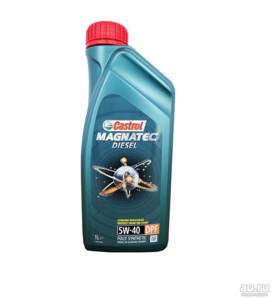 CASTROL Моторное масло Magnatec Diesel DPF SAE 5w40 1л Full-synthetic