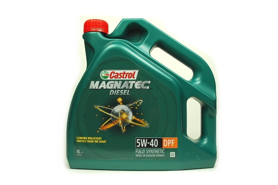 CASTROL Моторное масло Magnatec Diesel DPF SAE 5w40 4л Full-synthetic