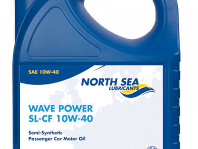 NORTH SEA Моторное масло WAVE POWER PERFORMANCE SL/CF SAE 10w40 4л Semi-synthetic