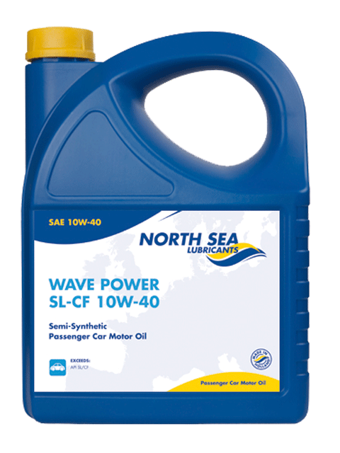 NORTH SEA Моторное масло WAVE POWER SL/CF SAE 10w40 4л Semi-synthetic