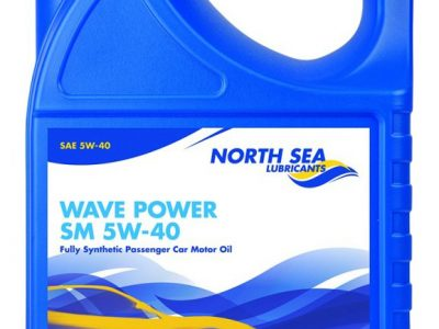 NORTH SEA Моторное масло WAVE POWER ADVANTAGE SM SAE 5w40 4л Full-synthetic