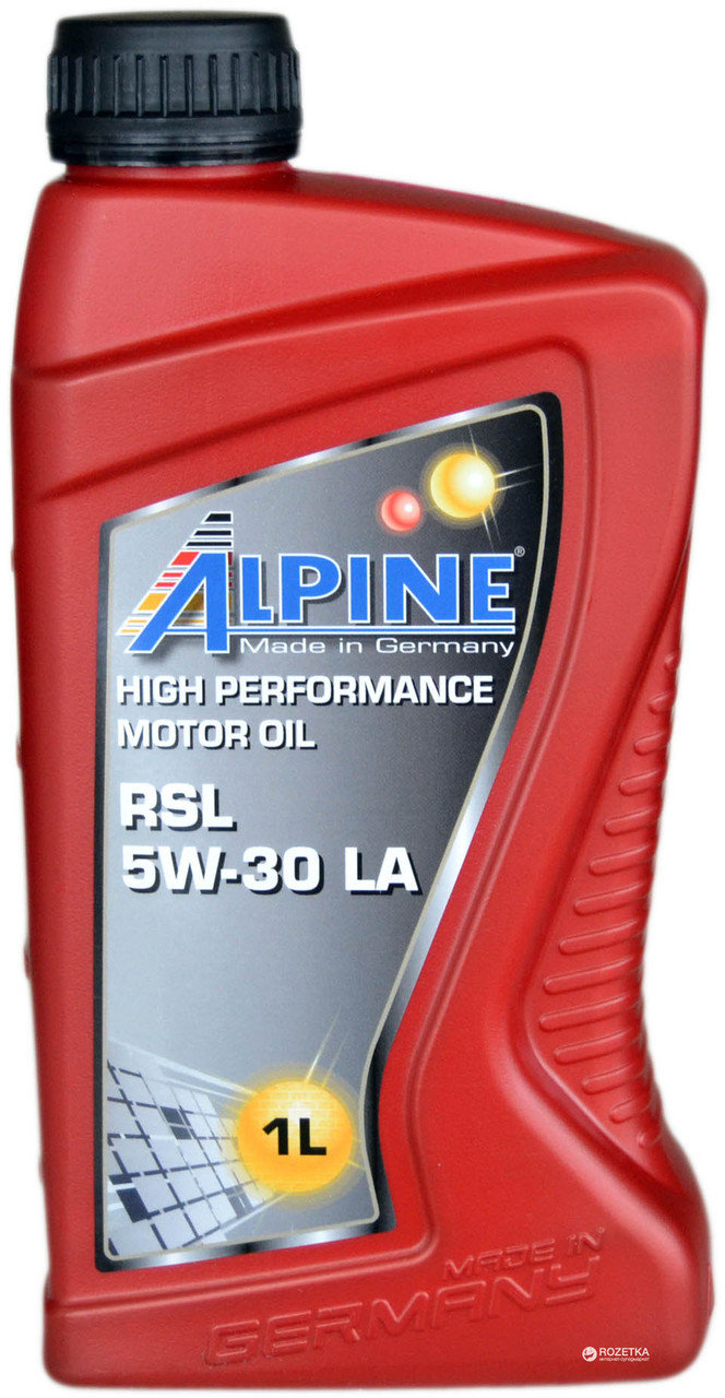 ALPINE Моторное масло RSL LA SAE 5w30 1л Full-synthetic