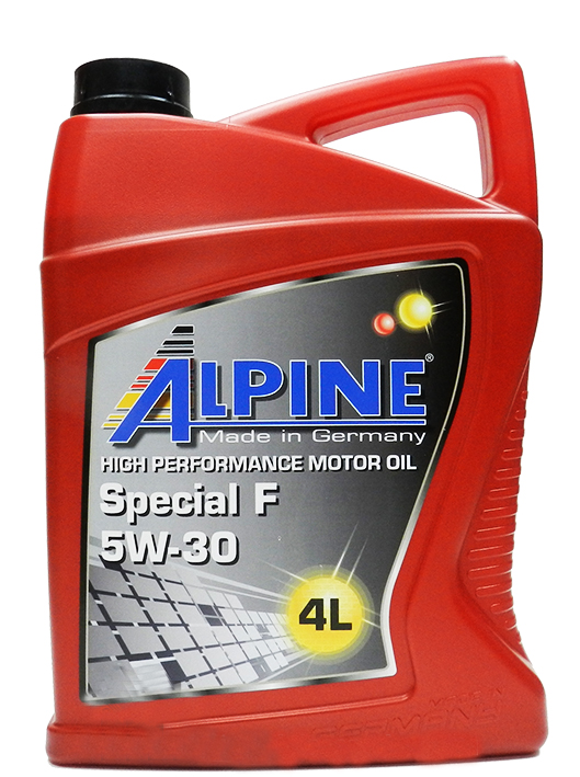 ALPINE Моторное масло Special F SAE 5w30 4л Full-synthetic