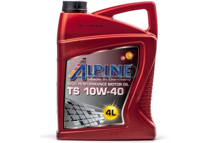 ALPINE Моторное масло TS SAE 10w40 4л Semi-synthetic