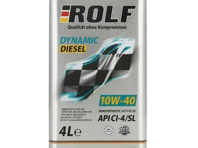 ROLF Моторное масло Dynamic Diesel SAE 10w40 4л Semi-synthetic