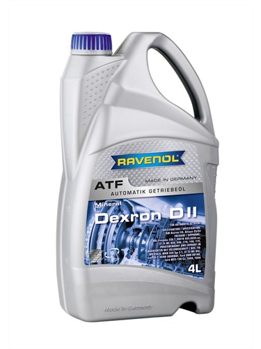 RAVENOL Трансмиссионное масло АКПП Dexron II 4л Mineral oil