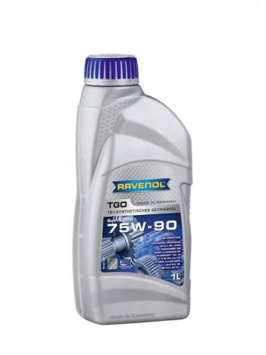 RAVENOL Трансмиссионное масло МКПП TGO SAE 75w90 1л Semi-synthetic