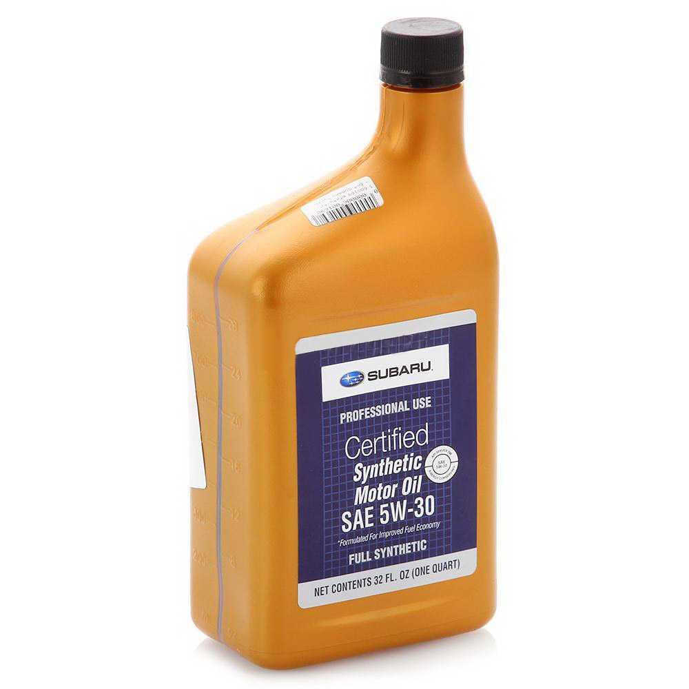 SUBARU Моторное масло SAE 5w30 3,780л Full-synthetic