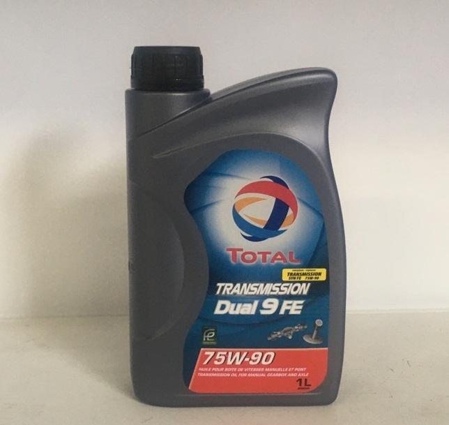 TOTAL Трансмиссионное масло МКПП Dual 9 FE SAE 75w90 1л Full-synthetic