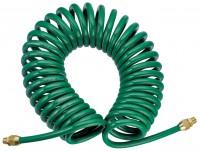 JONNESWAY Шланг полиуретановый спиральный для пневматического инструмента 5х8 мм, 8 м