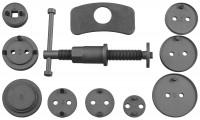 JONNESWAY Комплект инструмента для развода поршней тормозных цилиндров, 11 предметов