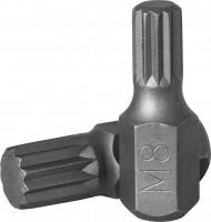 JONNESWAY Вставка-бита 10 мм DR SPLINE, М08, 30 мм