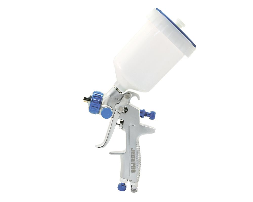 JETA PRO Краскораспылитель верхний пластиковый бачок 0.6 л, сопло 2.0 мм, давл. 2.5 бар.