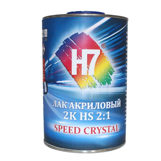 H7 Лак прозрачный CRYSTAL SPEED HS 1,0л + отвердитель 0,5л