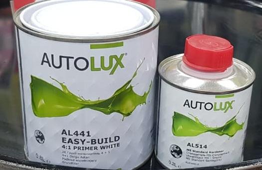 AUTOLUX Грунт-наполнитель 2К 4:1 Белый 0,8л + отвердитель MS стандартный 0,2л