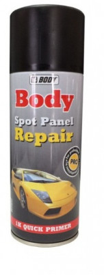 HB BODY Грунт Spot Panel Repair для точечного ремонта, Черный, 0,4л