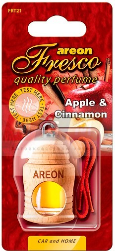 AREON Ароматизатор FRESCO гель ДЕРЕВО Apple & Cinnamon