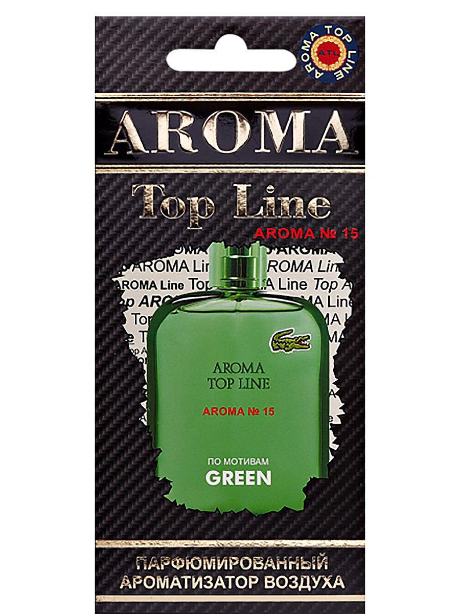 AROMA TOP LINE Ароматизатор по мотивам Lacoste Green