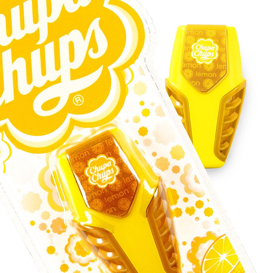 CHUPA CHUPS Ароматизатор на дефлектор гелевый  3мл Лайм-лимон