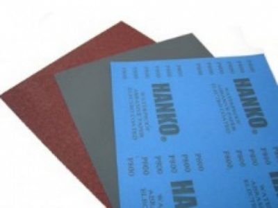 HANKO Водостойкая наждачная бумага 230×280мм, P 100