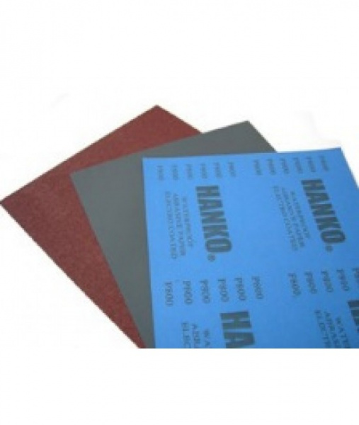 HANKO Водостойкая наждачная бумага 230×280мм, P 220