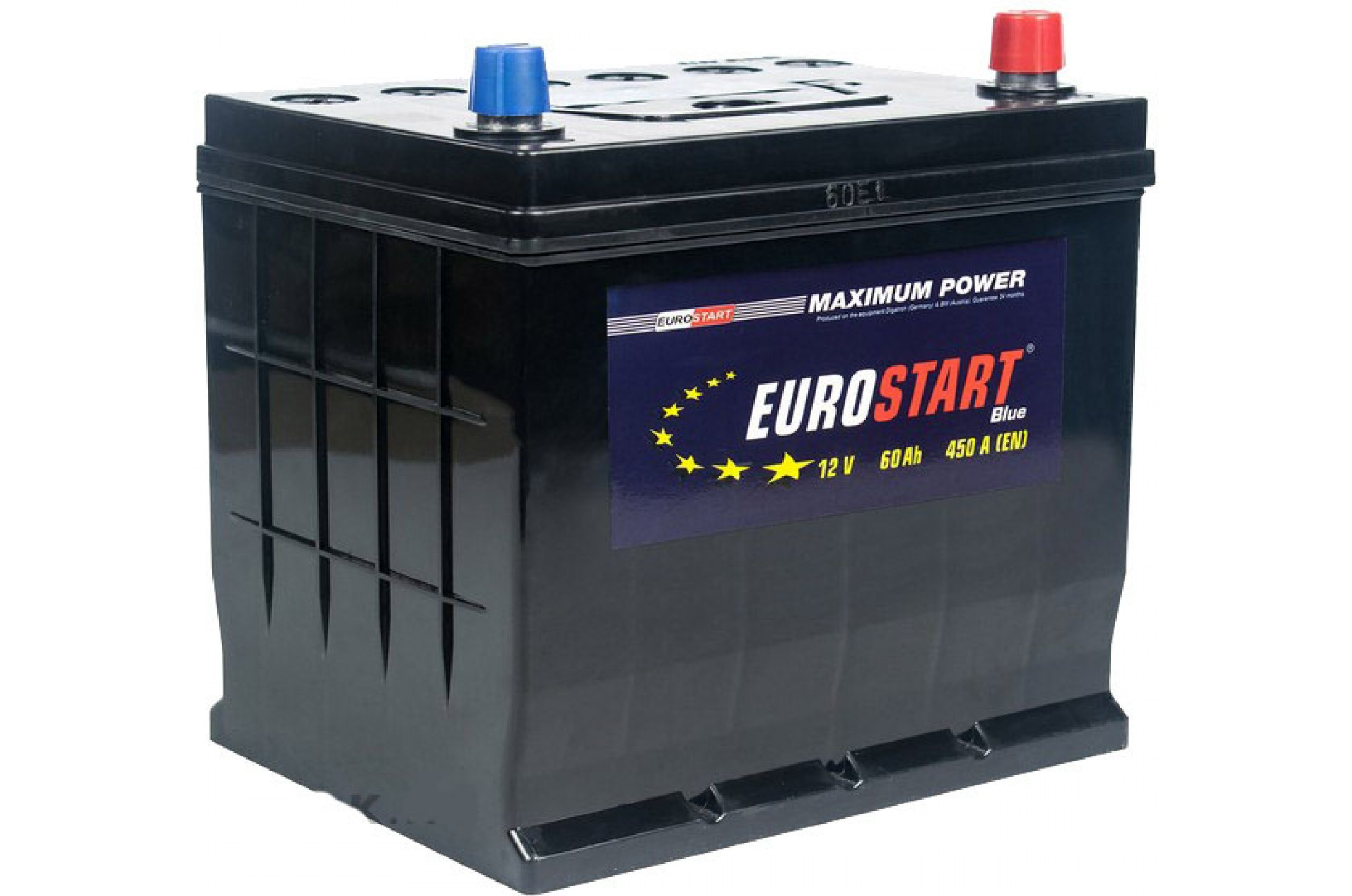 EUROSTART Аккумуляторная батарея автомобильная 60 A/h обратная полярность Asia
