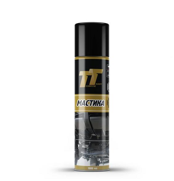 TT Антикоррозийная мастика (аэрозоль), 1л
