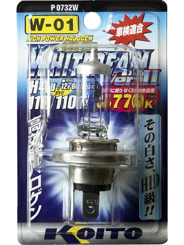 KOITO Лампа высокотемпературная H4U 12V 60/55W (110/110W) Whitebeam в блистере, 1 шт.