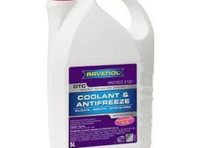 RAVENOL Антифриз OTC Organic Technology Coolant -40С G12 концентрат красный 5л