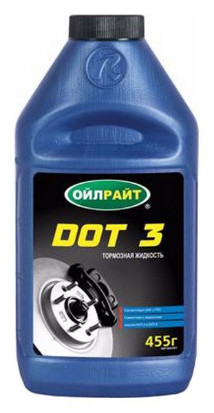 OIL RIGHT Тормозная жидкость DOT-3 455мл