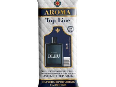AROMA TOP LINE Влажные салфетки по мотивам Chanel Bleu