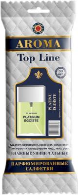 AROMA TOP LINE Влажные салфетки по мотивам Chanel Platinum Egoiste