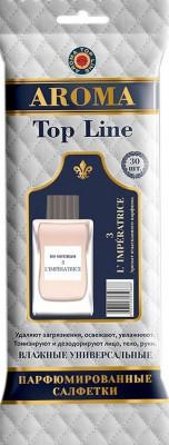 AROMA TOP LINE Влажные салфетки по мотивам Dolce & Gabbana 3 L'Imperatrice