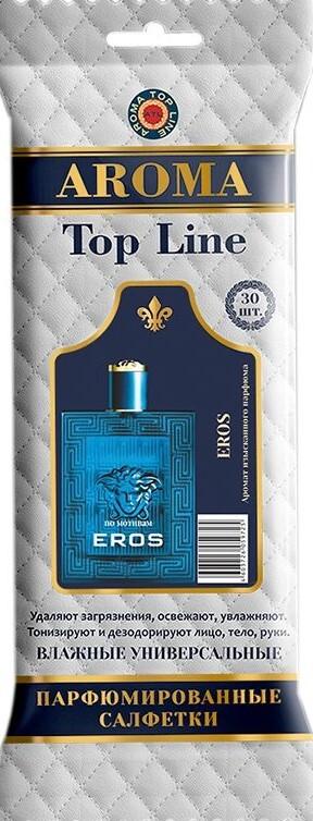 AROMA TOP LINE Влажные салфетки по мотивам Eros Versace